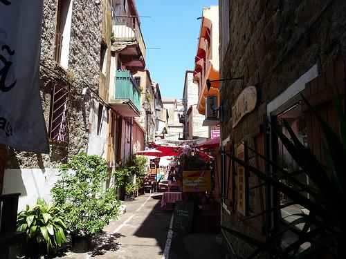 Rue Bonaparte ,  Porto-Vecchio, Corse